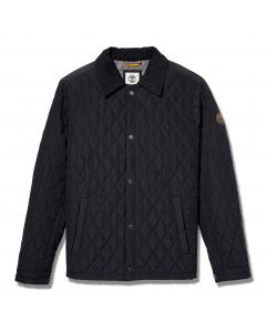 Timberland Men's Quilted Overshirt Black