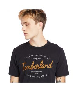 Timberland Men's Seasonal Graphic T-Shirt Black