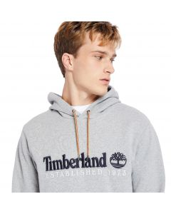 Timberland Men's Outdoor Heritage EST. 1973 Crew Neck Sweatshirt Grey