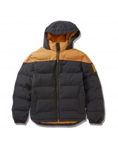 Timberland Men's Welch Mountain Warmer Puffer Jacket Wheat and Black