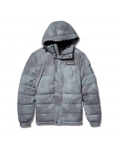 Timberland Men's Reflective Printed Puffer Jacket