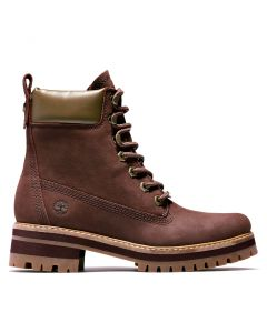 Timberland Women's Courmayeur Valley Boot Burgundy
