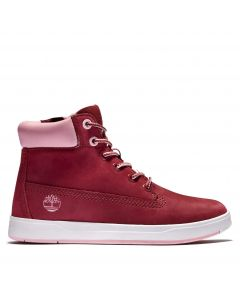Timberland Youth Davis Square 6-inch Boot Red