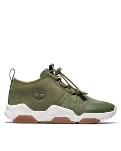 Timberland Youth Earth Rally Super Oxford Sneaker Green
