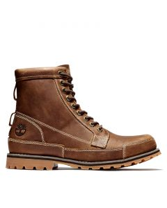 Timberland Men's Originals II Leather 6 in Boot Brown