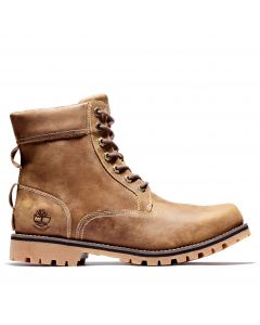 Timberland Men's Rugged 6-inch in Plain Toe Boot Brown