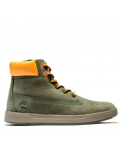 Timberland Youth Davis Square 6-inch Boot Green