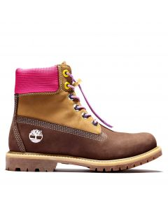 Timberland Women's 6-inch Premium Boot Brown