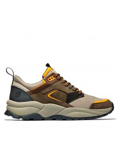 Timberland Men's Tree Racer Leather Sneaker Brown