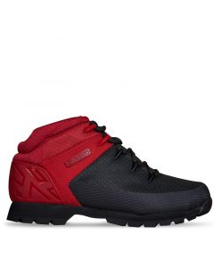 Euro Sprint Mid Hiker Black and Red