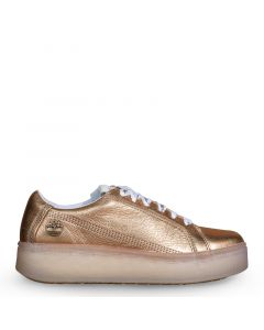 Marblesea Leather Sneaker Gold