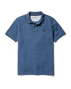 Millers River Polo Shirt Blue