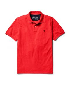 Millers River Polo Shirt Red