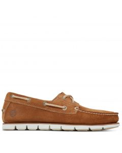 Men's Tidelands Boat Shoe Light Brown
