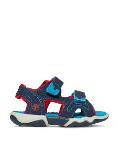 Toddler Adventure Seeker 2 Strap Sandal Blue and Red