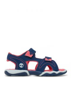 Youth Adventure Seeker 2 Strap Sandal Navy and Pink
