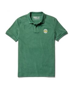 SS Millers River Chest Graphic Polo Shirt Green