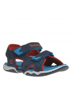 Youth Adventure Seeker 2 Strap Sandal Blue and Red