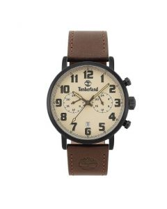 GTS Leather Beige Dial WR 5ATM Watch